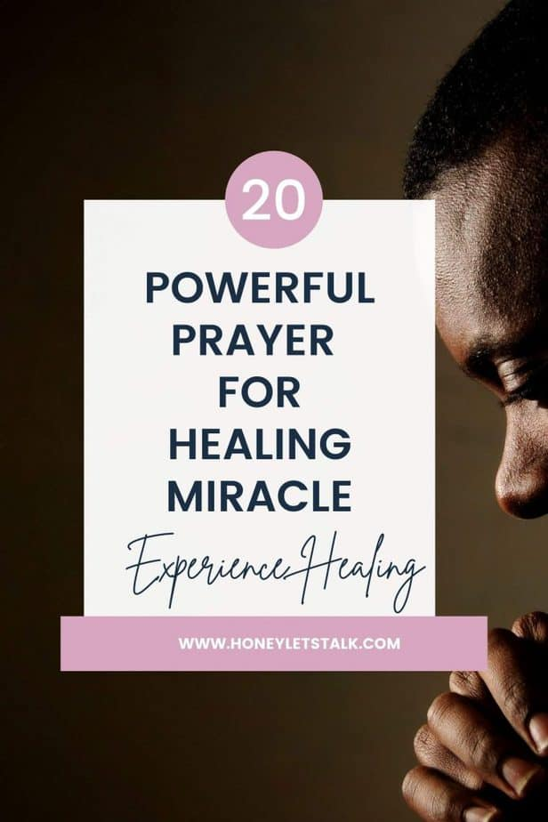 20 Powerful Prayer For Healing Miracle